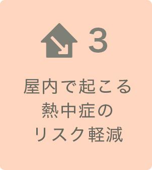 屋内で起こる熱中症のリスク軽減