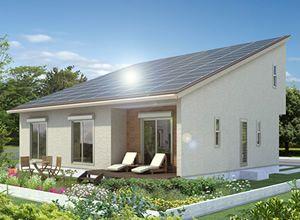 10kW以上の太陽光発電を搭載 おひさまハウス