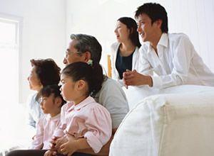 親世帯、子世帯が心地よく暮らす 二世帯住宅