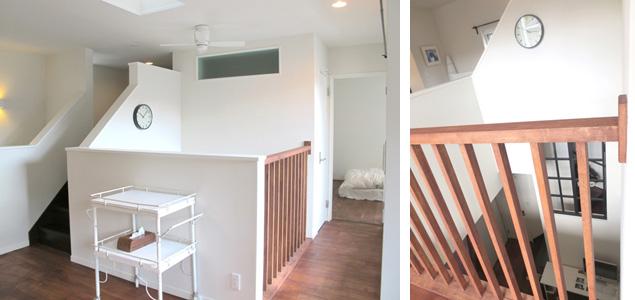 ▲家の中心に、大きく吹き抜けを設けました。光熱費や換気も問題なし