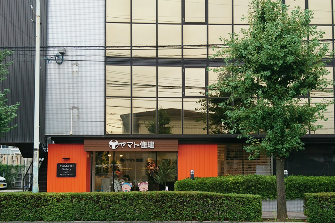 川口ショールームは野尻第2ビル1階にございます。