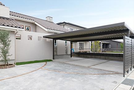 ヤマト住建 太田住宅展示場の駐車場