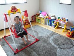▲たくさんのおもちゃがある洋室は、将来は子供部屋に。(2階洋室)