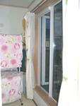▲ベランダ横につくった和室は、洗濯物を取り込む際にも便利