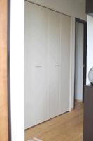 ▲玄関スペースにも大容量の収納