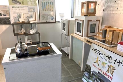 ヤマト住建 西神戸店の体感コーナー