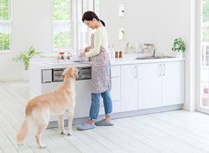 大切な家族が暮らしやすい家がいい ペットと住まう家