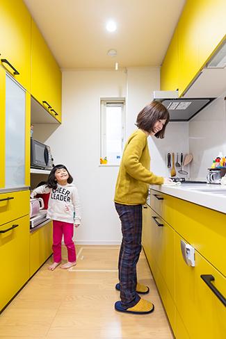 千葉県船橋市:ZEH/キッチン