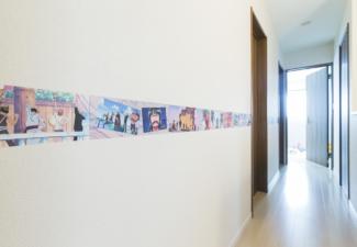 【エネージュ:堺市北区】廊下
