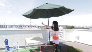 【建て替え:さいたま市】屋上庭園