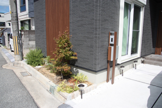 【二世帯住宅:兵庫県宝塚市】外観/外構/ZEH