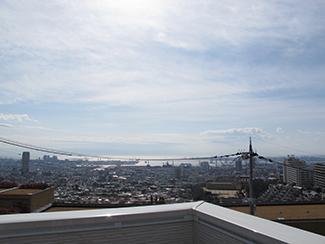 【エネージュ:神戸市灘区】屋上庭園