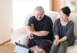 【おひさまハウス:京都府八幡市】リビング/高性能樹脂サッシ/ご家族様