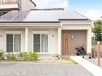 【おひさまハウス:京都府八幡市】外観/太陽光発電