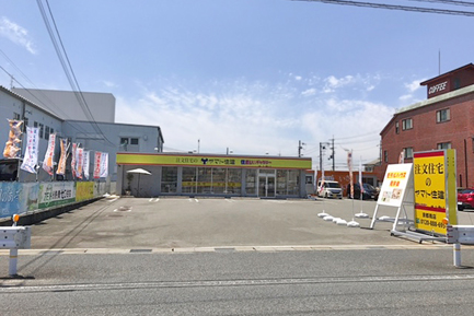 ヤマト住建 京都南店の駐車場