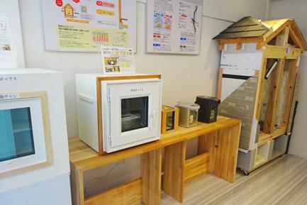 ヤマト住建 和歌山店の体感コーナー 樹脂サッシ