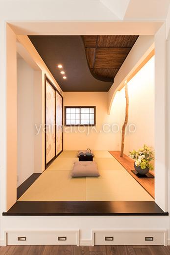 [兵庫県尼崎市:モデルハウス]尼崎住宅展示場/ダブル断熱/全館空調/和室(床下収納付)