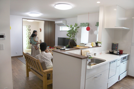 兵庫県姫路市:ZEH/キッチン