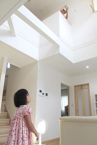 兵庫県高砂市:建て替え/吹き抜け