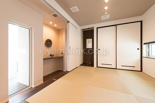 [和歌山県和歌山市:モデルハウス]和歌山住宅展示場/ダブル断熱/ZEH/全館空調/和室/床の間
