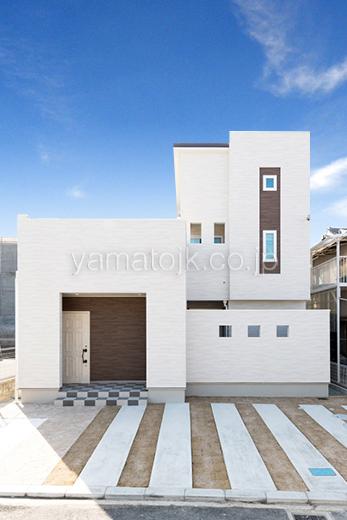 [和歌山県和歌山市:モデルハウス]和歌山住宅展示場/ダブル断熱/ZEH/全館空調/外観