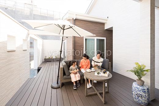 [和歌山県和歌山市:モデルハウス]和歌山住宅展示場/ダブル断熱/ZEH/全館空調/中庭/家族