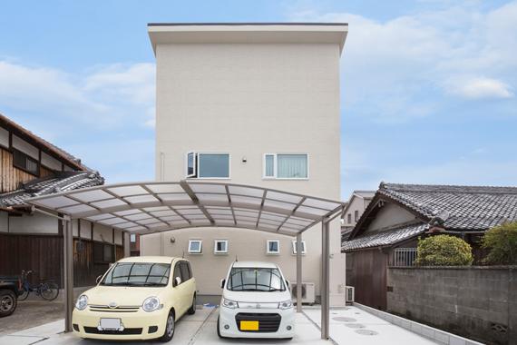 大阪府泉佐野市:太陽光発電システム/外観