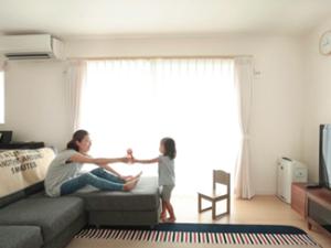 神戸市西区:大きな窓の家/リビング