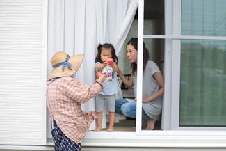 神戸市西区:大きな窓の家/樹脂サッシ