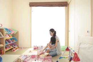 神戸市西区:大きな窓の家/和室