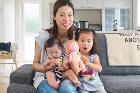 神戸市西区:大きな窓の家/ご家族