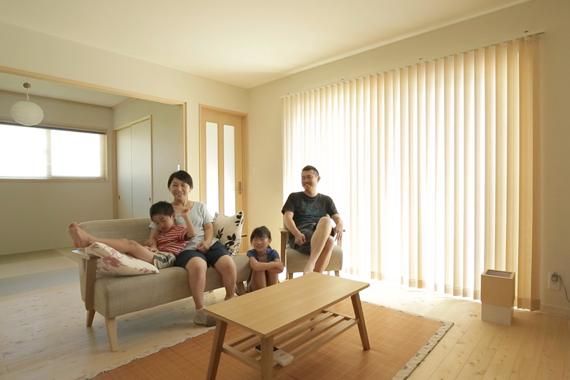 兵庫県加古川市:太陽光発電システム/リビング