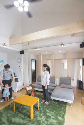 兵庫県三田市:太陽光発電システム/リビング