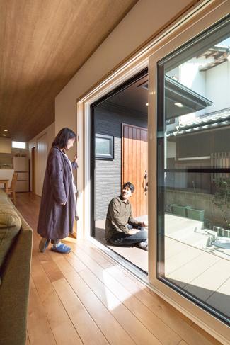 和歌山県和歌山市:無垢材/ウッドデッキ