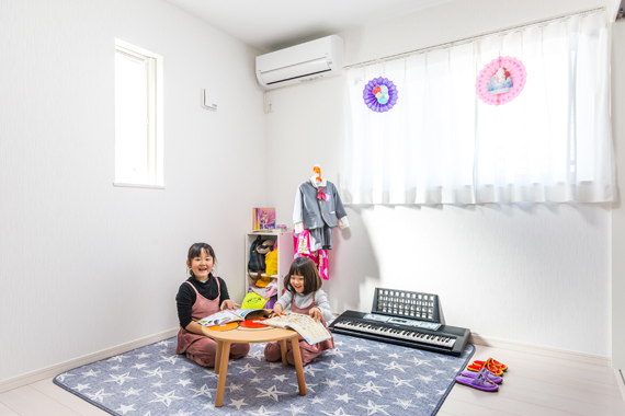 東京都八王子市:太陽光発電システム/子供部屋