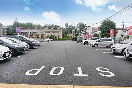 所沢住宅展示場 駐車場