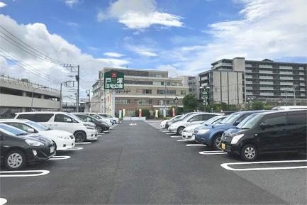 ヤマト住建 横浜住宅展示場の駐車場
