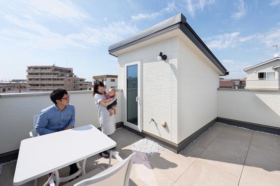 神戸市西区:ZEH/屋上庭園