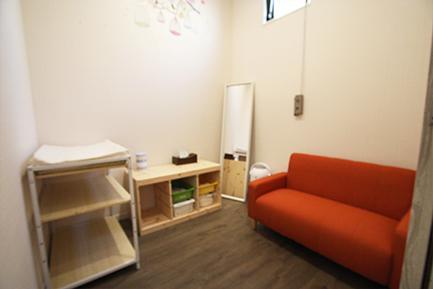 ヤマト住建 所沢店の赤ちゃんのおむつ交換スペース