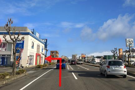 ヤマト住建 一宮店へのアクセス 名岐バイパス/国道22号線を直進、AOKIを見て左折