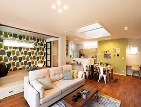 変化する空間を楽しむ家