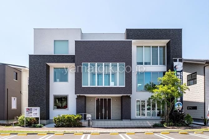 [神奈川県厚木市]ダブル断熱仕様のZEH(ゼロエネルギーハウス)ヤマト住建モデルハウスの外観