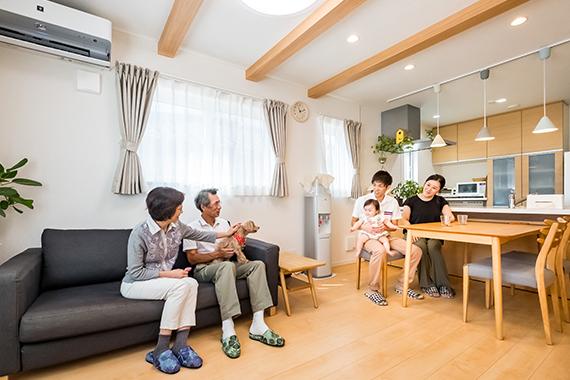 [千葉県流山市]ヤマト住建お客様宅の二世帯住宅の2階LDK