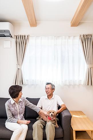 [千葉県流山市]ヤマト住建お客様宅の二世帯住宅のリビング