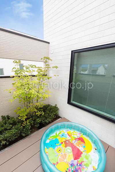 [大阪府泉南郡熊取町]高気密・高断熱でダブル断熱仕様のヤマト住建モデルハウスのロジア
